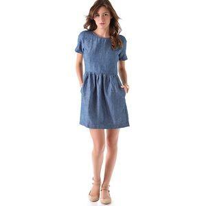 Madewell Chambray Avalon Dress